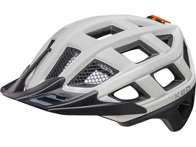 KED Crom Helmet white black matt